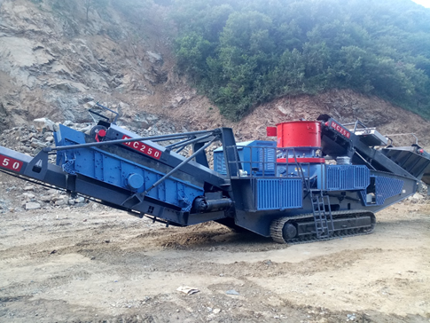 Mobile Crusher and Screen